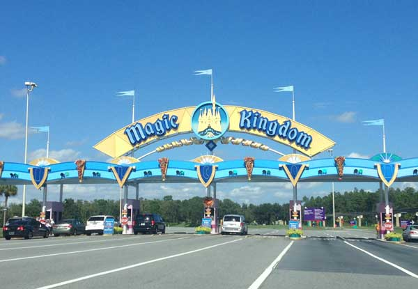 Disney World Theme Park Parking