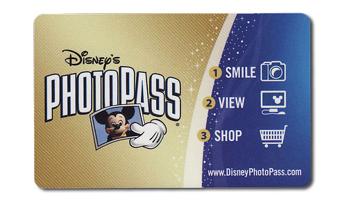Disney World PhotoPass card