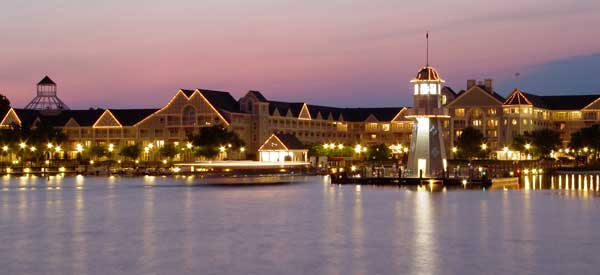 On Property Disney World Resorts Deluxe Hotel Photo