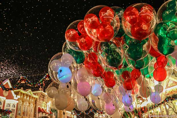 photo of mickey balloons on main st in the magic kingdom