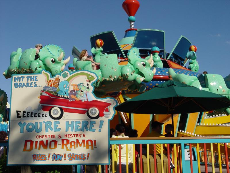 TriceraTop Spin Disney Animal Kingdom