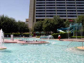 Contemporary Resort Pools & Recreation