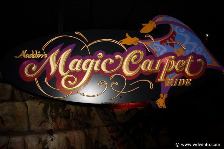 Aladdin's Magic Carpet Ride