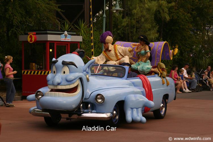 29 Aladdin Car