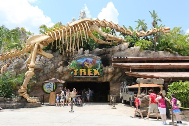 T Rex Menu Disney Springs