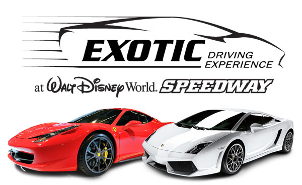 Exotic Driving Experience At Walt Disney World Speedway Discount Tickets