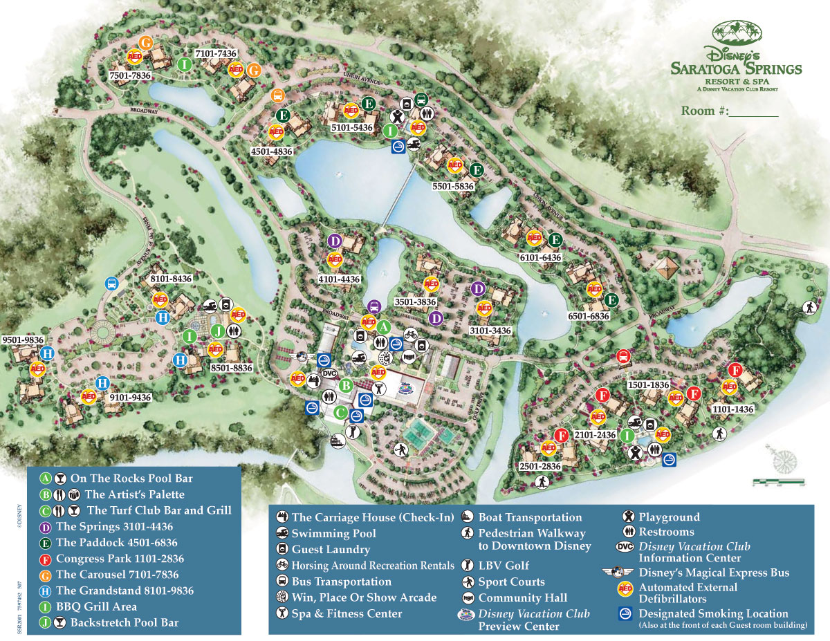 saratoga springs disney map treehouse villas » 4K Pictures | 4K ...