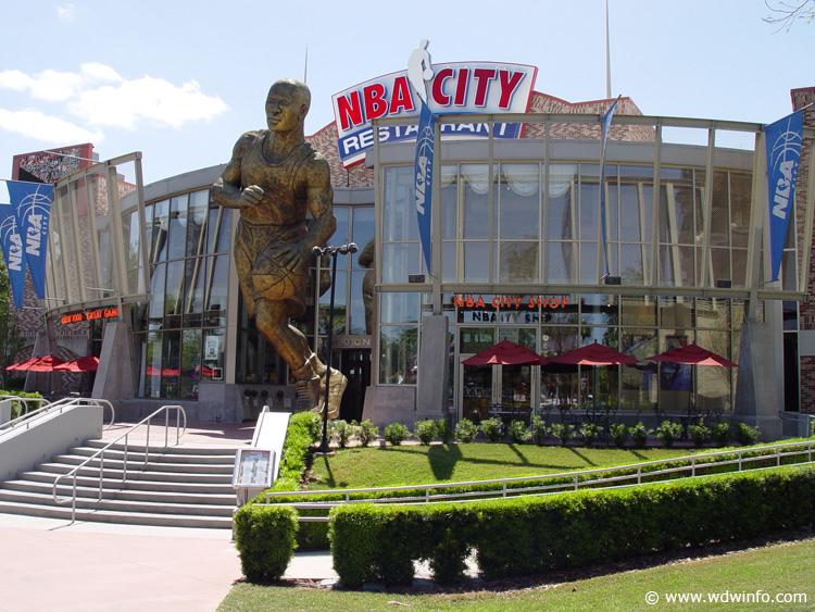 Nba City Restaurant Review Universal Studios Orlando