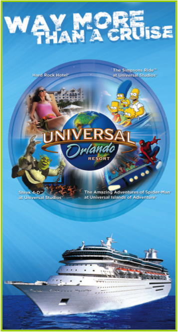 Universal Orlando Royal Caribbean Land Sea Cruise Package