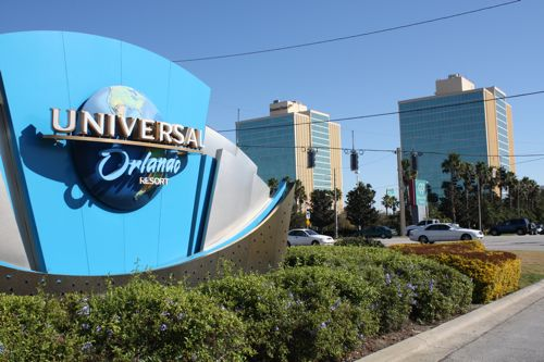 Doubletree Hotel At Entrance To Universal Studios Orlando