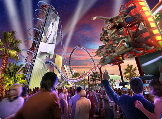 Site offers preview of new coaster at Universal Orlando