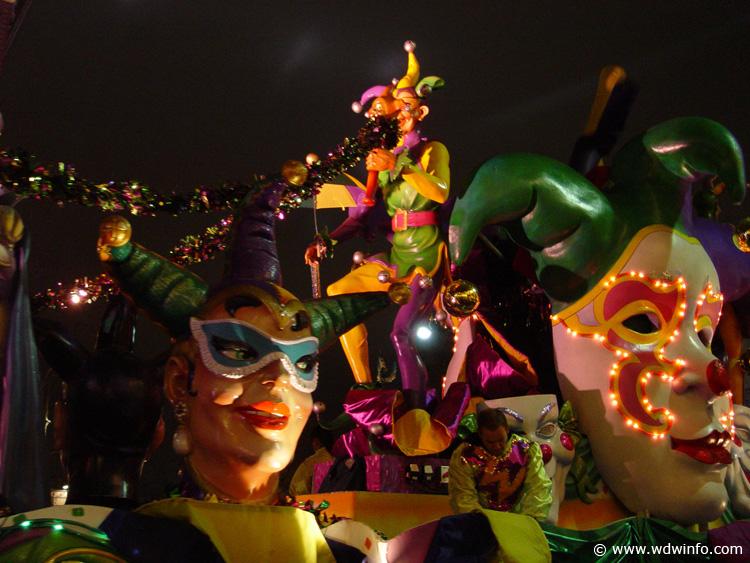 Universal Studios Orlando Mardi Gras Photos - DSC00079