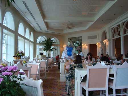 Garden View Tea Room u - Grand Floridian