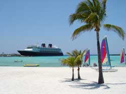 Disney Crusie Line Castaway Cay photos