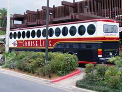 Disney Cruise Line New Bus