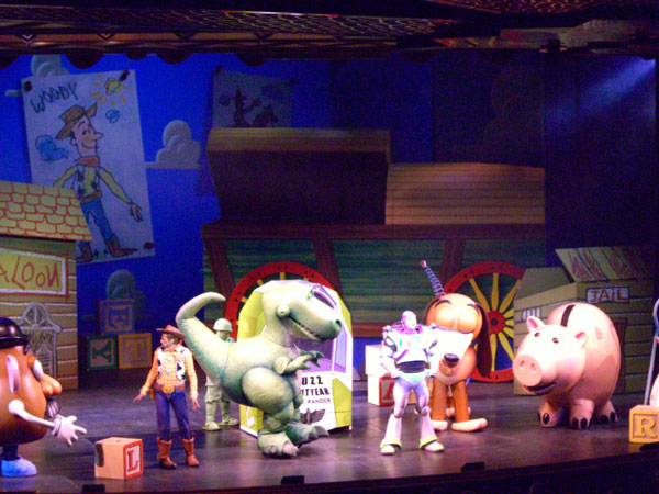 Toy Story The Musical cast