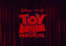 Toy Story The Musical curtain