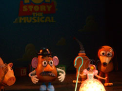 Toy Story The Musical popato head
