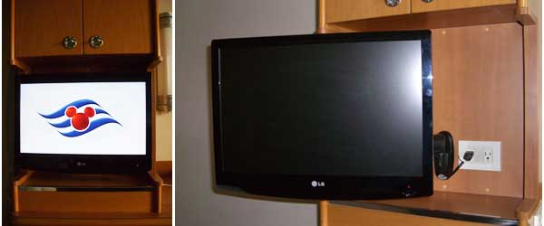new tv's in the rooms