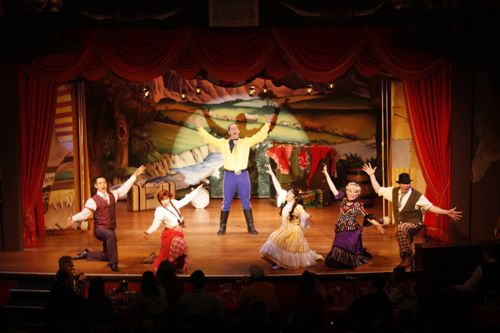 Hoop-Dee-Doo Musical Revue Menu - Fort Wilderness Resort & Campground