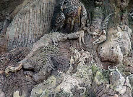 Disneys Animal Kingdom The Tree Of Life