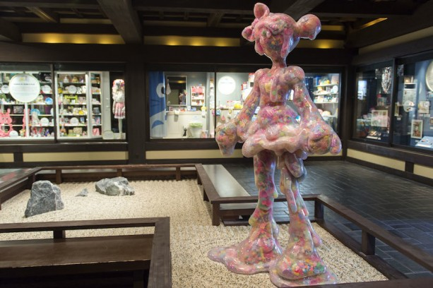The Exhibit Details Kawaiis Origins And Its Use Across Japanese Culture Statue Below Was Designed By Kawaii Artist Designer Sebastian Masuda