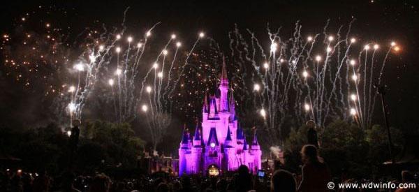 disney castle fireworks. prizes Disney offered.