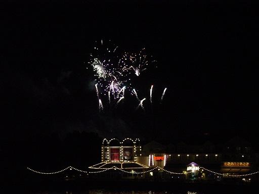 BW fireworks