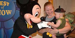 How young is too young? Bringing a baby to Walt Disney World