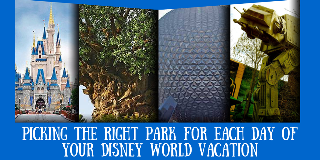 Which Disney Park on Which Day?