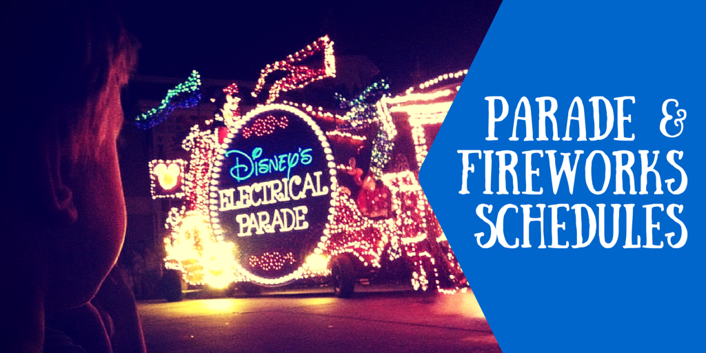 Know The Parade and Firework Schedules