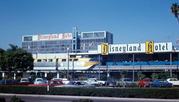 Disneyland Hotel Monorail Station