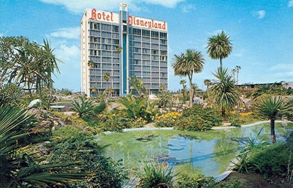 Disneyland Hotel Tower And Lagoon