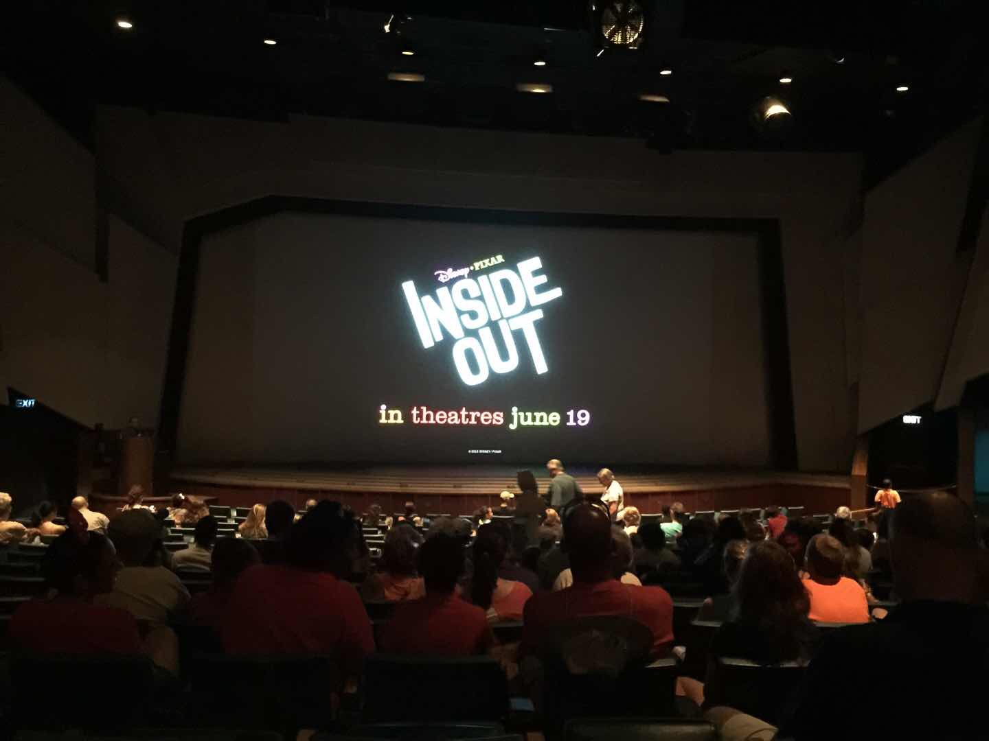 Pixar s inside out sneak peek now showing at the magic for Inside movie