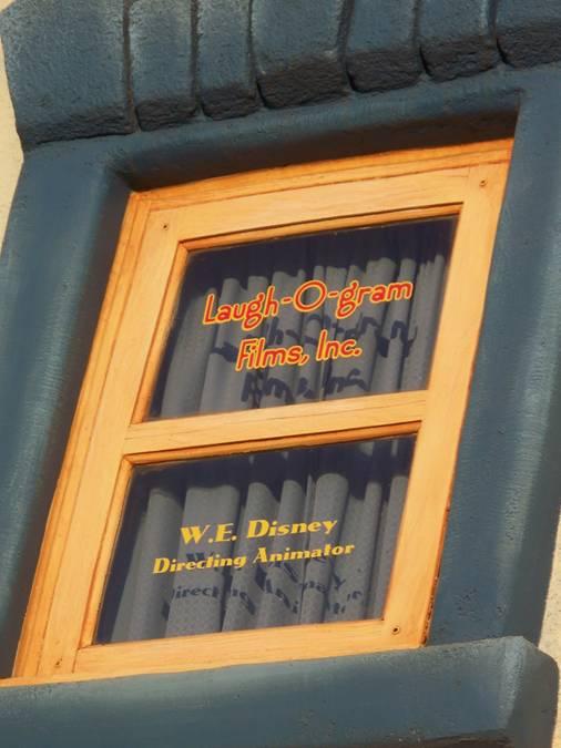 Laugh-O-gram Window