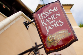 Lessing Kamen and James sign