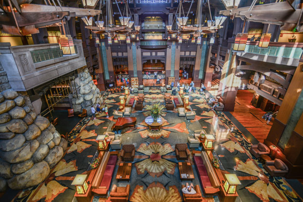 Disney S Grand Californian Hotel Amp Spa Disneyland California
