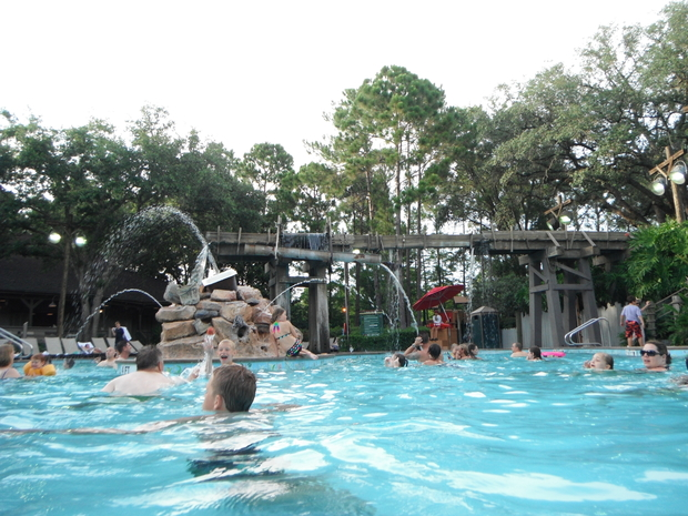 Port Orleans Riverside main pool.