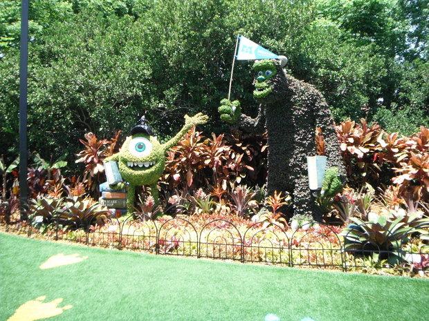Monstrous Playground at Flower & Garden Festival