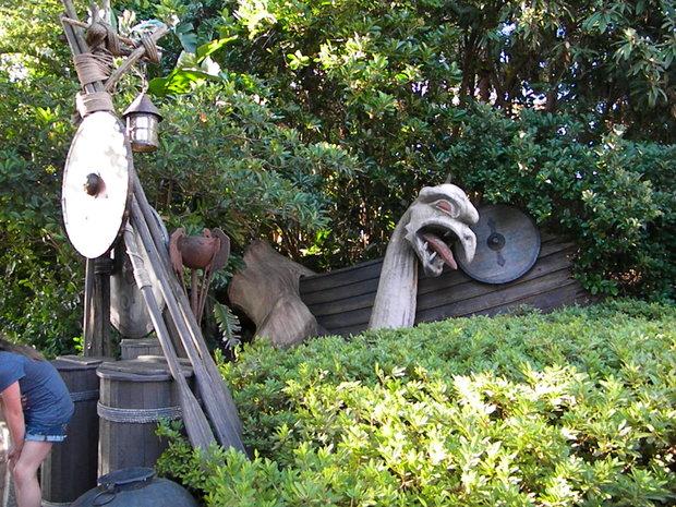Old Viking Ship Playground
