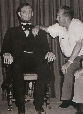 walt and mr. Lincoln