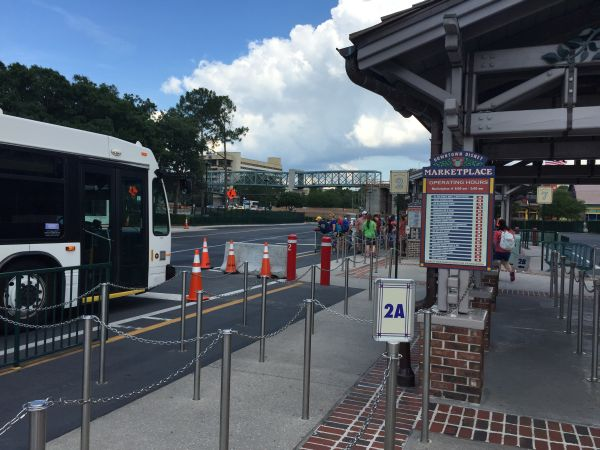 Bus Roulette at Walt Disney World