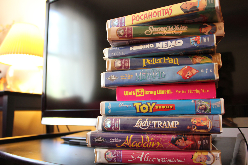 Get the Disney movies (even if they are VHSes) ready!