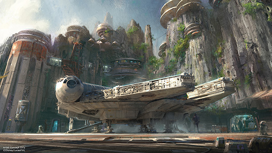 Star Wars Themed Land Announced!