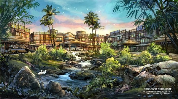 Disney Explorers Lodge concept (photo courtesy Hong Kong Disneyland Resort)