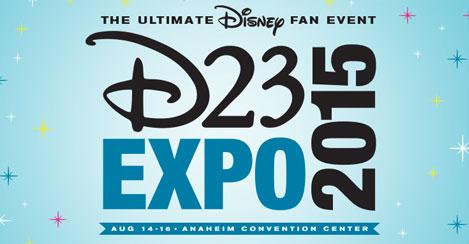 Disney's D23 Expo Photo & Video Updates!