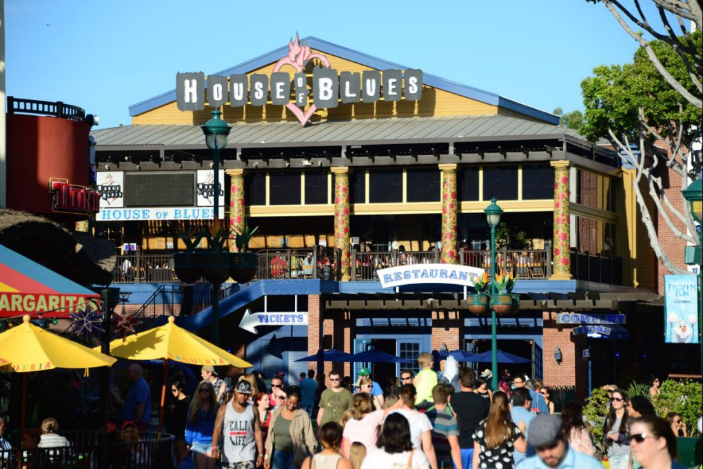 The Garden Walk Anaheim Ca: Anaheim House Of Blues Plans Move To GardenWalk