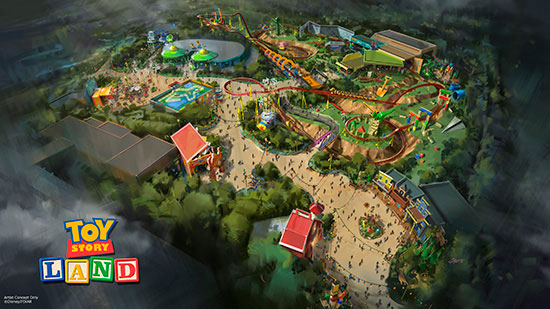 Toy Story Land Announced!