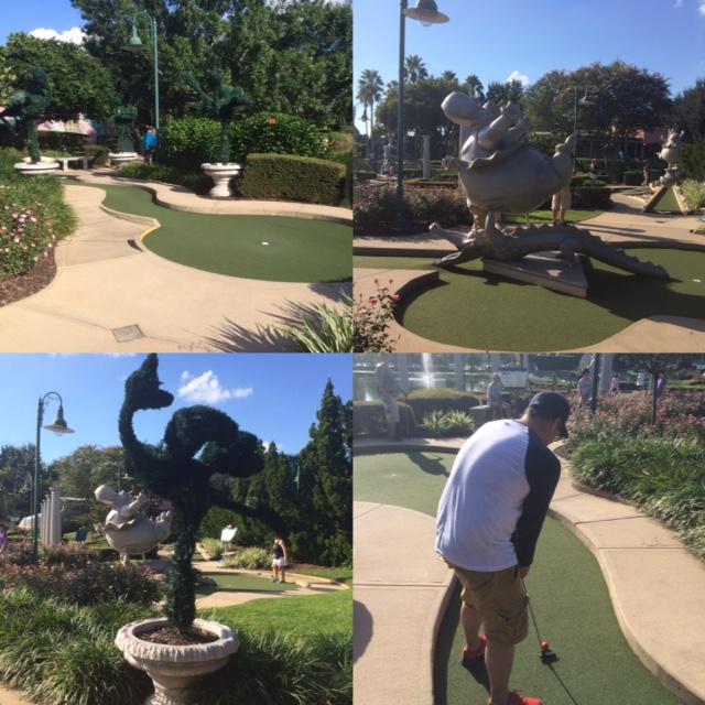 Mini Golfing Around Disney World