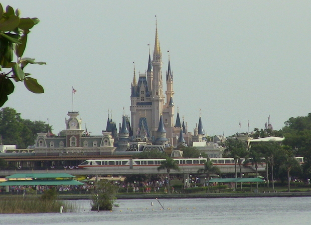 View of the Magic Kingdom from the Ferry Boat!